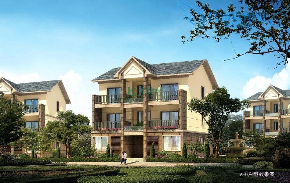 三层欧式别墅效果图小户型复古,占地110平方11×10米带露台阳台农村独栋别墅设计图